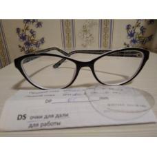 очки с диоптриями -2 для девочки
