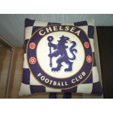 Подушка с логотипом Chelsea