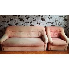 Отдам даром диван и кресло