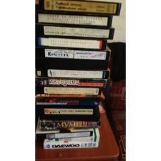 Отдаю даром кассеты