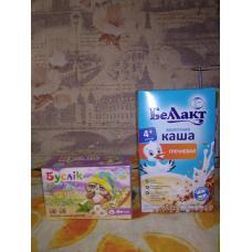 Гречневая каша и детский чай