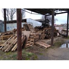 Поддоны деревянные на дрова